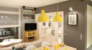 Aranżacja małego salonu z miejscem na telewizor