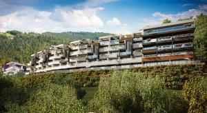 Apartamenty Bukowa Góra z kamieniem węgielnym