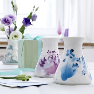 Porcelanowy design do salonu w romantycznym stylu
