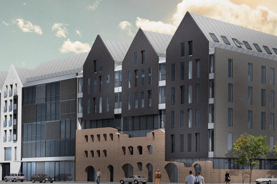 Apartamenty, biura i hotel w gdańskim spichlerzu