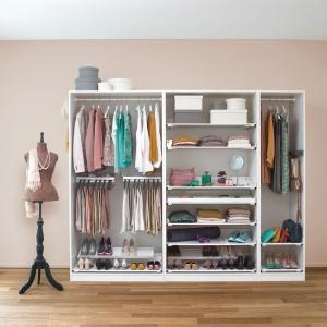 Garderoba, która pomaga utrzymać porządek