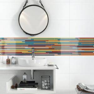 Szklane dekoracje w kuchni i łazience