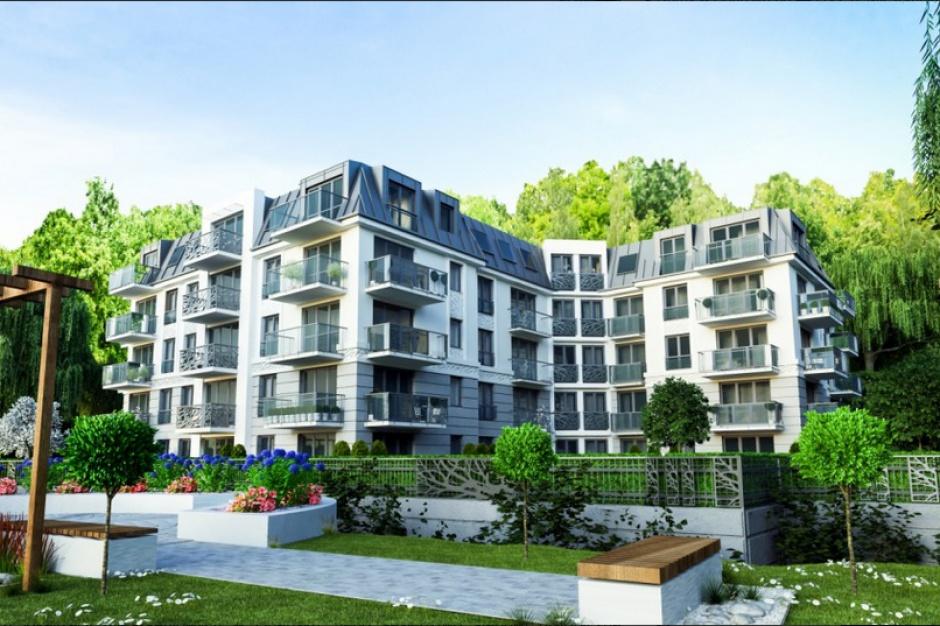 Nowe apartamenty w willowej części Wrzeszcza