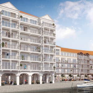 Apartamenty Marina Royale z lotu ptaka