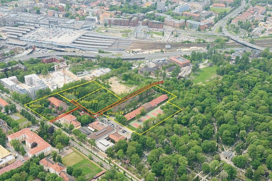Grunty AMW w centrum Krakowa pod mieszkania