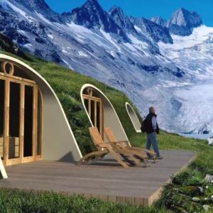 Chatka hobbita, czyli dom porośnięty ogrodem
