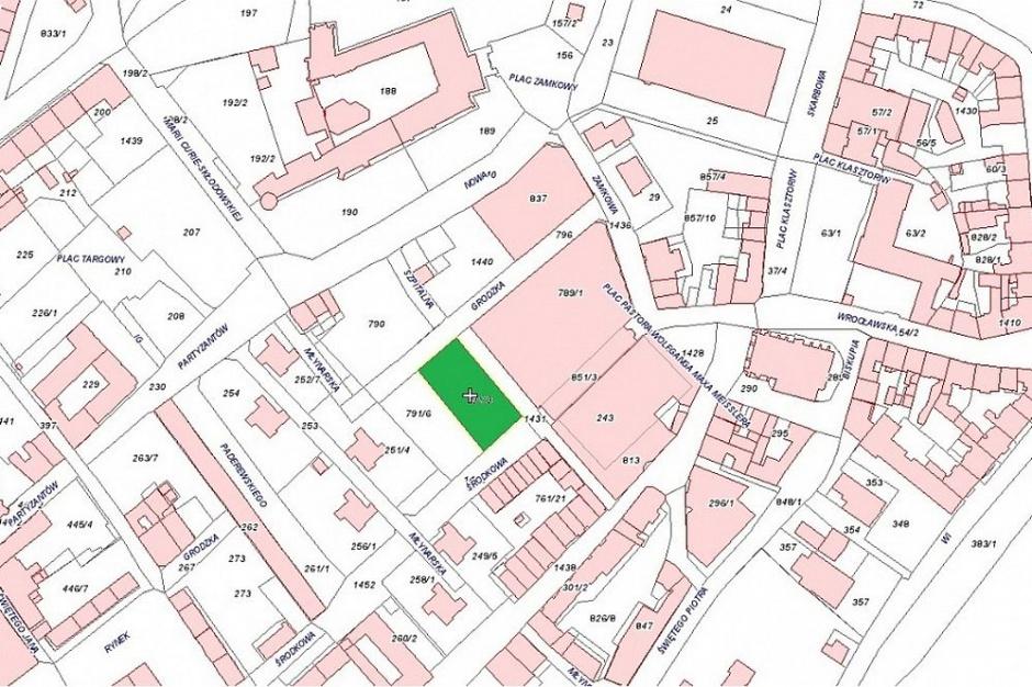 Przetarg na grunt mieszkaniowy w Legnicy