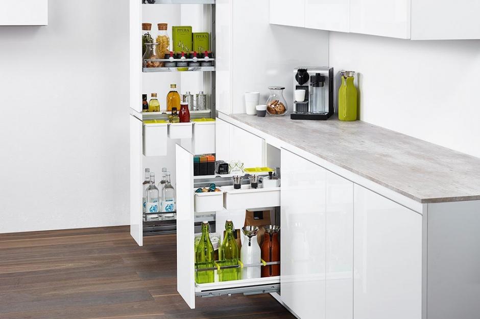 Perfekcyjne przechowywanie i organizacja w kuchni