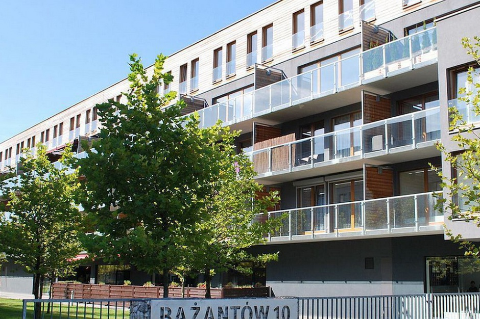 Powstaje nowy budynek na osiedlu Bażantowo