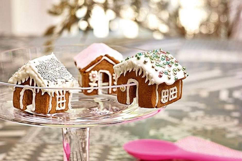 Bożonarodzeniowa kuchnia zamienia się w cukiernię