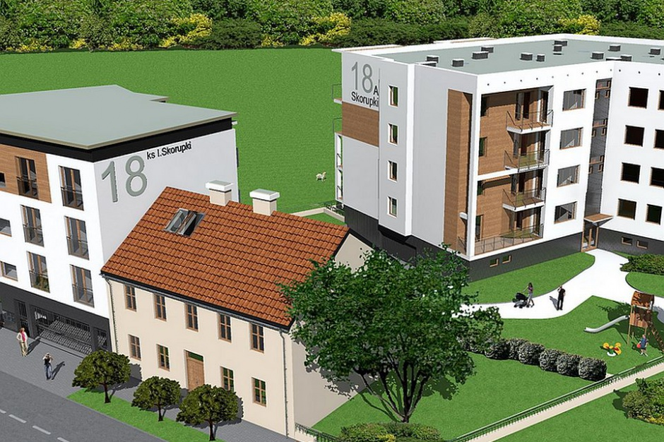 Bydgoszcz: SM nad Brdą buduje Osiedle Jordanka