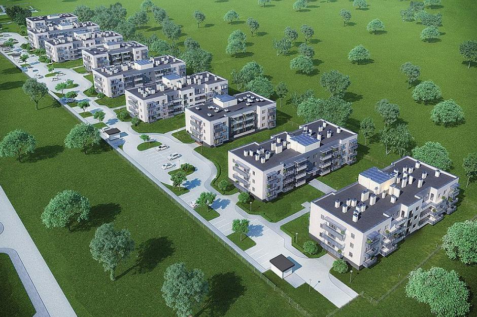 Instalbud Rzeszów wchodzi na plac budowy Zielonej Doliny