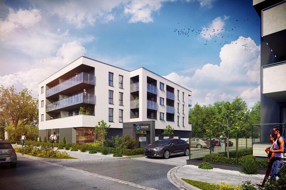 Toscom Development buduje apartamenty we Wrocławiu