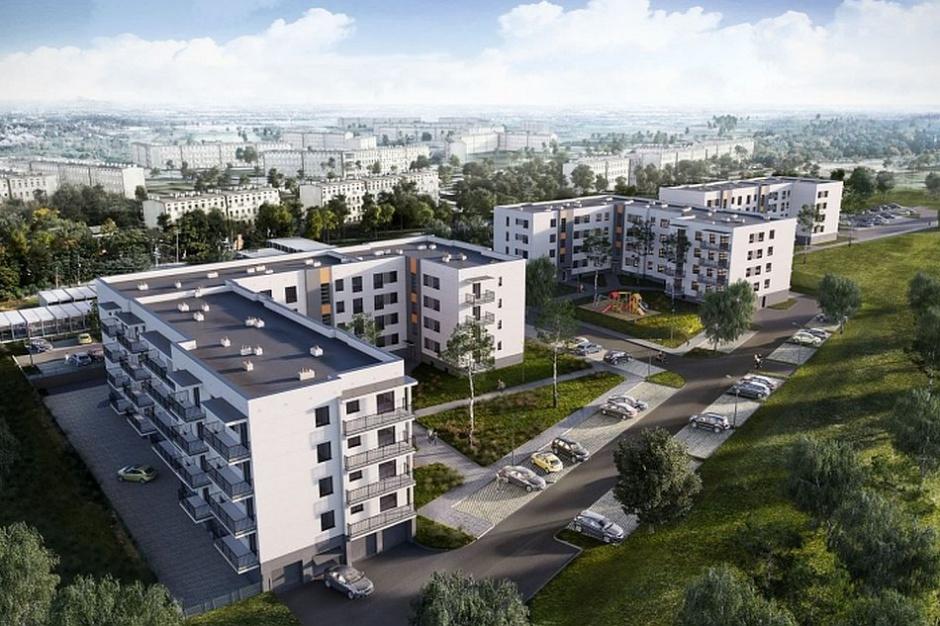 Płock: Powstaje drugi budynek osiedla Armii Krajowej