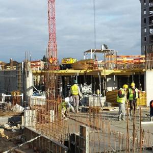 Na budowie osiedla Triton Winnica praca nie ustaje