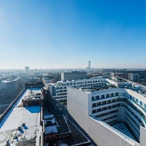 OVO Wrocław błyszczy w styczniowym słońcu