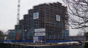 Bydgoszcz z ósmego piętra Nordic Haven