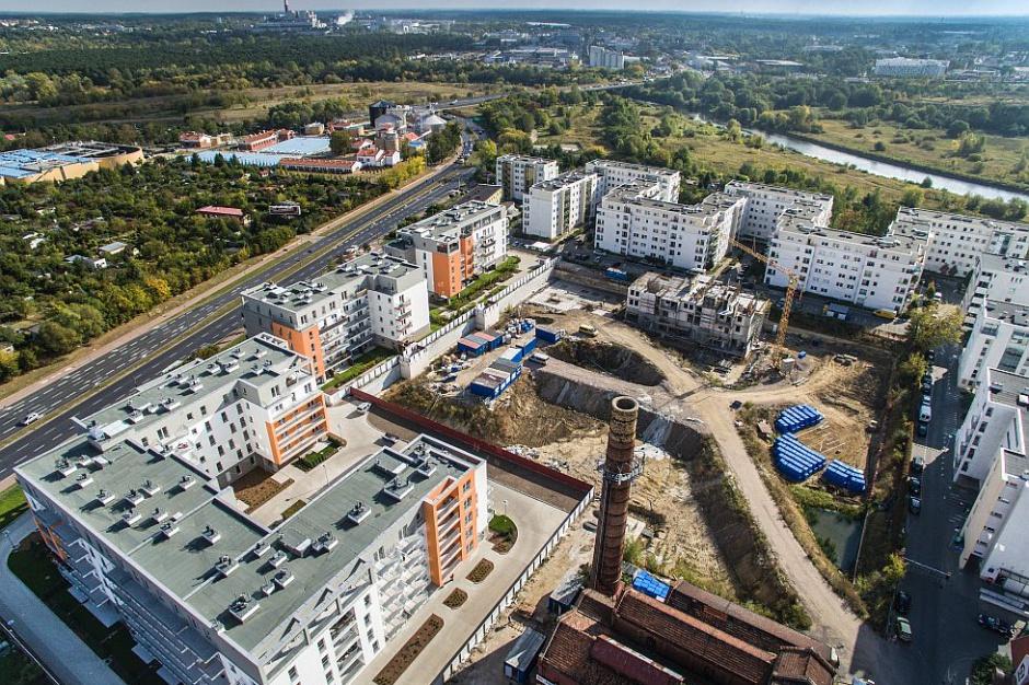 Poznań: Osiedle Wilczak 20 w rozbudowie