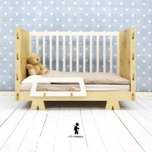 Łóżko, które rośnie razem z dzieckiem