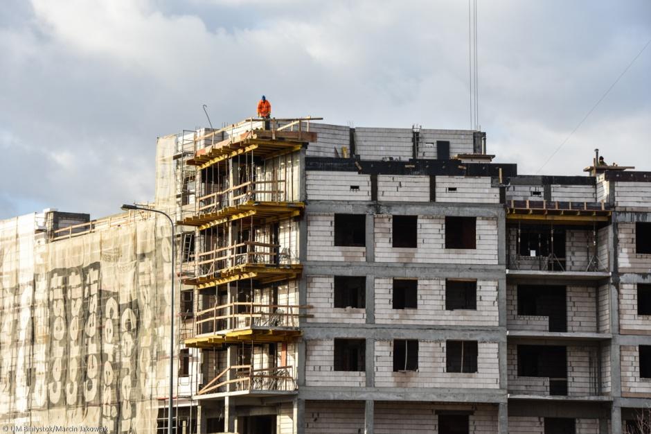 Białystok: TBS buduje nowy blok