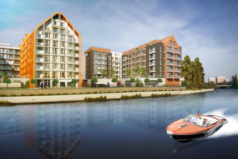 Rusza drugi etap budowy apartamentów Aura Gdańsk na Wyspie Spichrzów