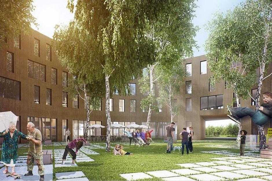 Major Architekci zaprojektowali budynek łączący trzy pokolenia