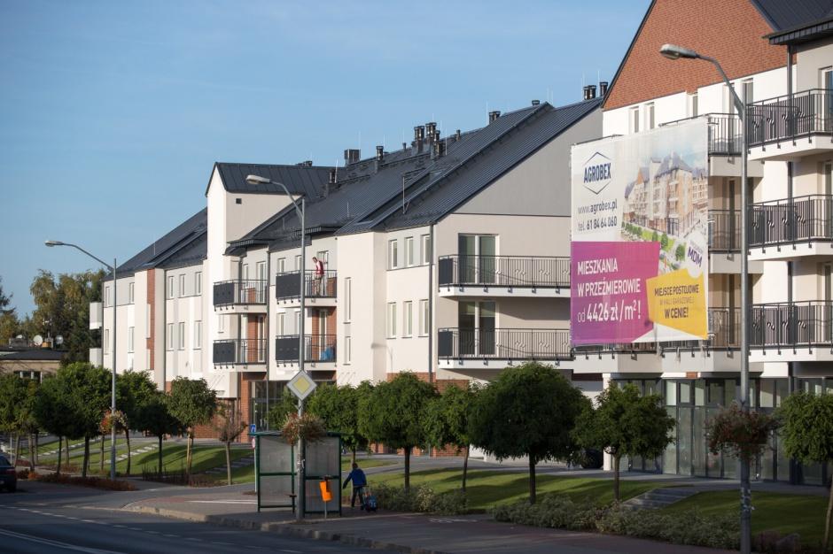 Podmiejskie lokalizacje mieszkaniowe zyskują