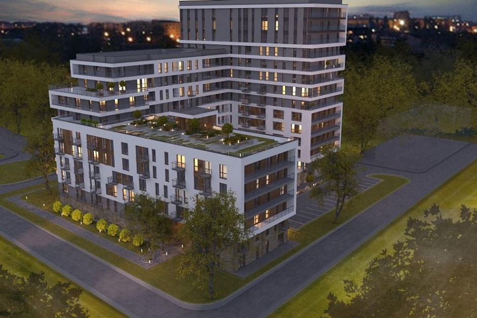 Apartamenty Ilumino z gotową elewacją i tarasem na dachu