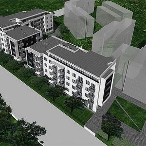 Domex-Bud planuje budowę osiedla Rymarska Park