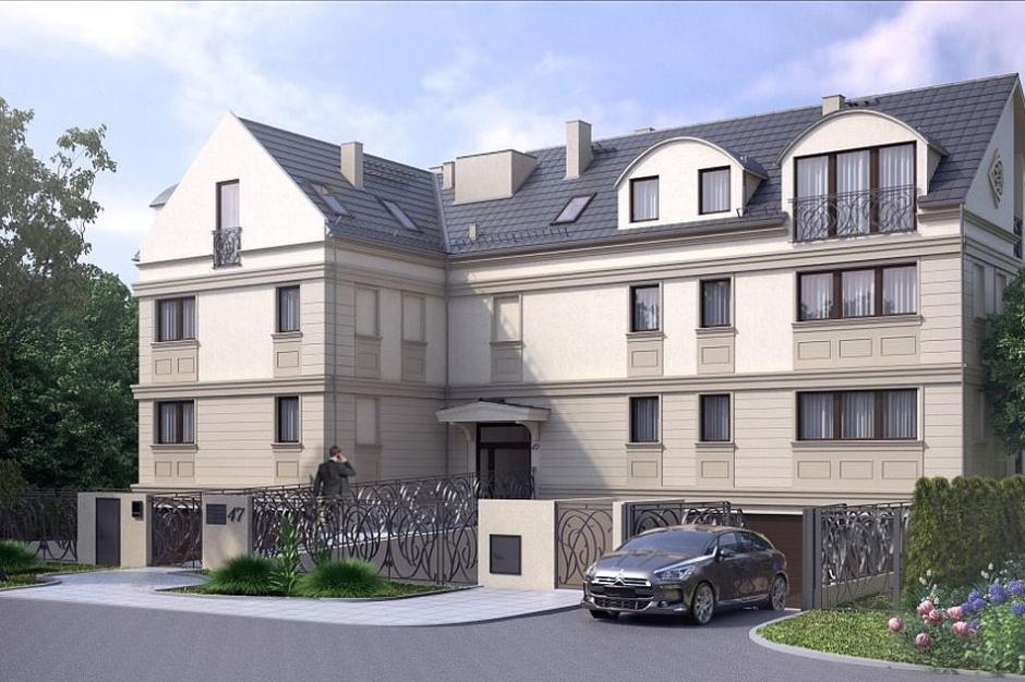 Rakowiecka 47 - kameralna inwestycja Vienna Development