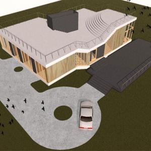 Dom niczym latający dywan. Niezwykły projekt S.LAB architektura