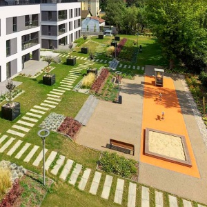 Villa Park Konin - apartamenty z ogrodem na dachu