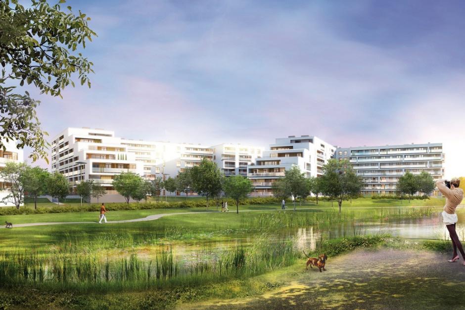Apartamenty nad jeziorem wkrótce w budowie