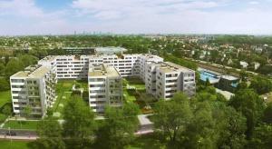 Wiecha na osiedlu Ursa Smart City