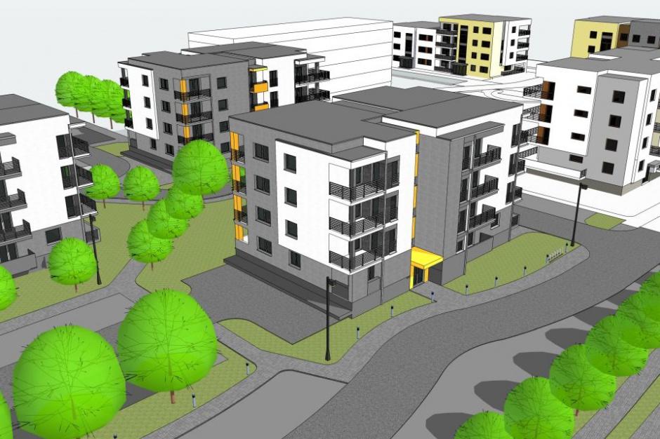 Nowe bloki na bydgoskim osiedlu