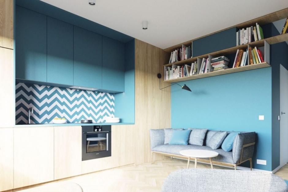 Świetny pomysł na małe mieszkanie