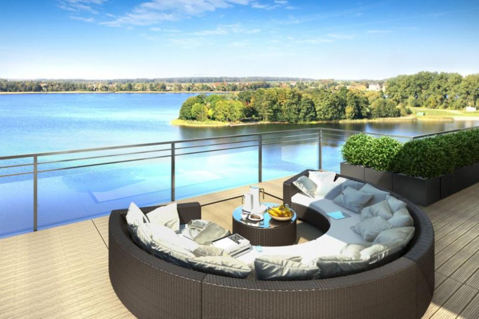 Jeziorna Residence: Apartamenty na pełnych żaglach