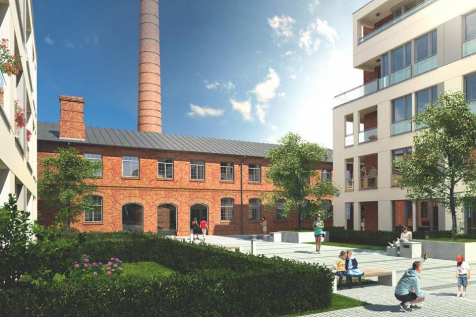 Osiedle Grafitowe: Apartamenty z fabryką ołówków w tle