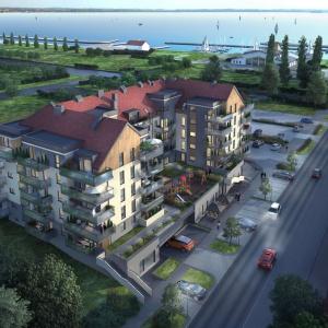 Apartamentowa przystań luksusu nad jeziorem