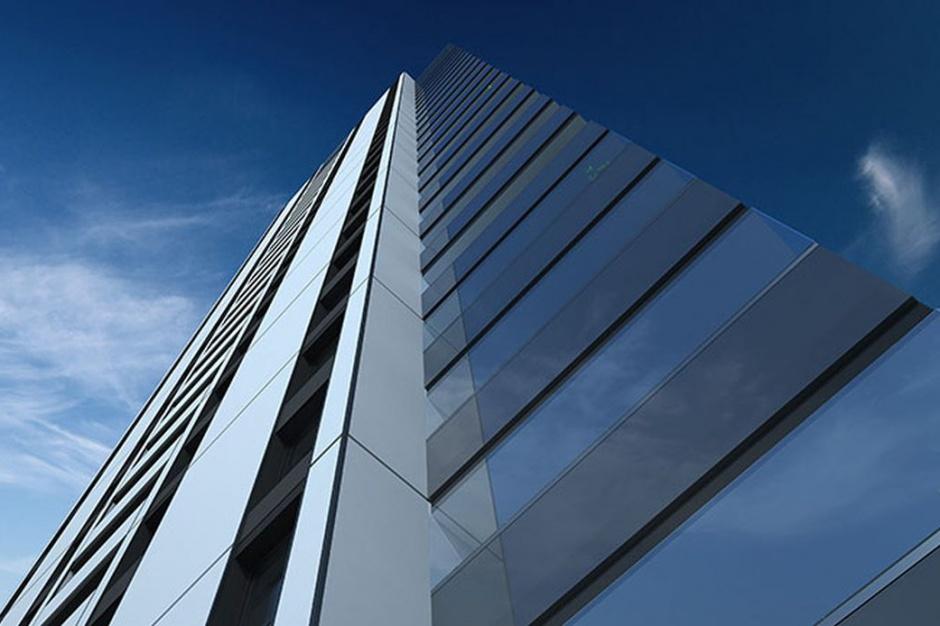 Apartamentowy drapacz chmur Aura Sky pnie się w górę