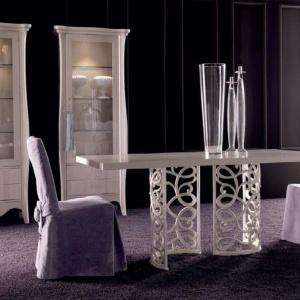 Salon w stylu glamour przyciąga kontrasty
