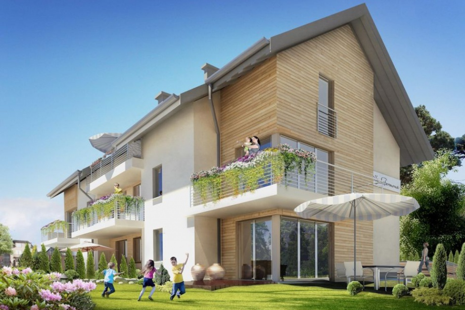 Willa Sztormowa: Apartamenty tuż przy plaży