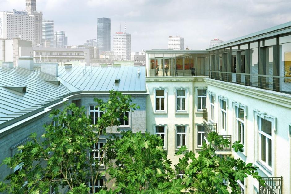 Penthouse w prezydenckiej lokalizacji