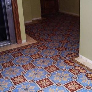 Ruską41 zdobią francuskie dywany kaflowe