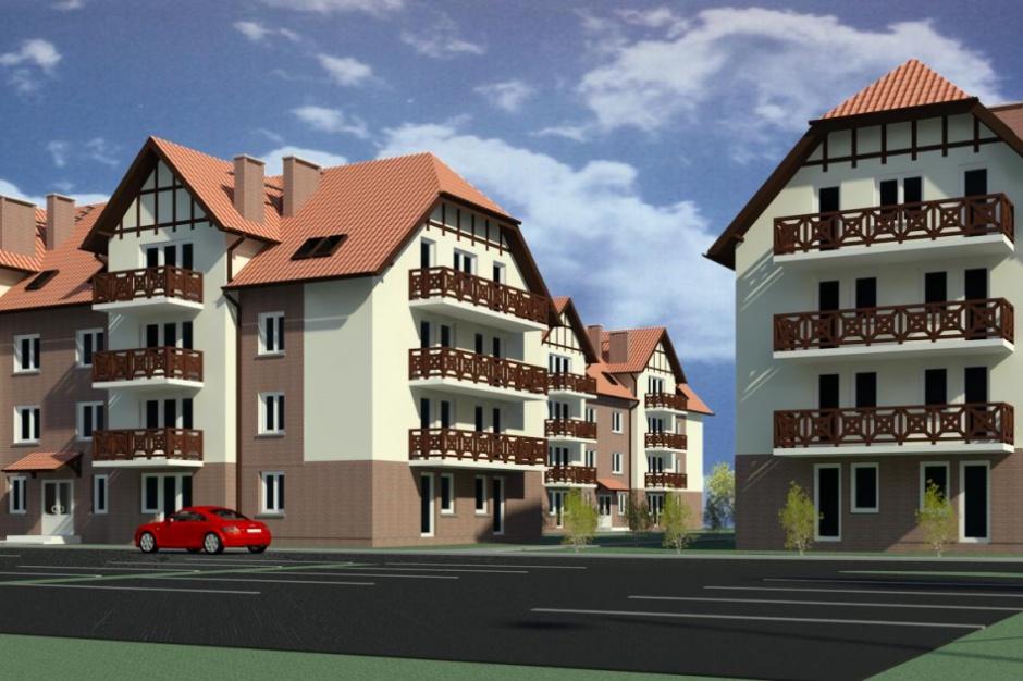 Sztutowo: Apartamenty w stylu regionalnym