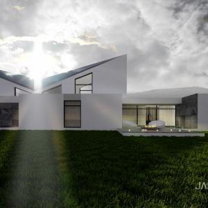 Sky Fall House: Dom otwarty na góry