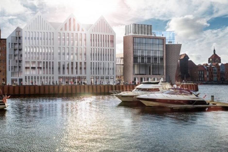 Wyspa Spichrzów zyska nowy hotel obok apartamentów