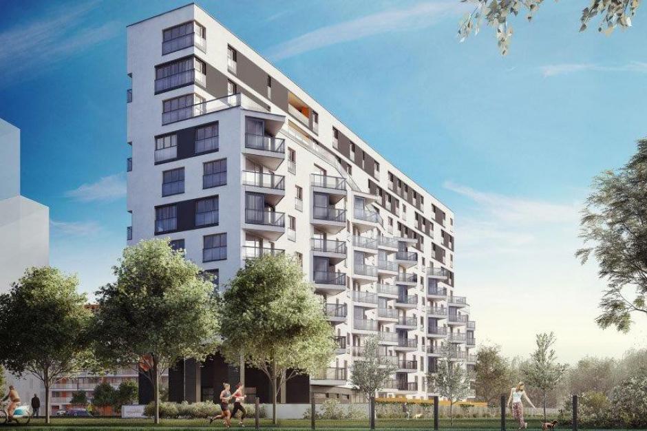 Apartamenty Mokotów nad Skarpą pną się w górę