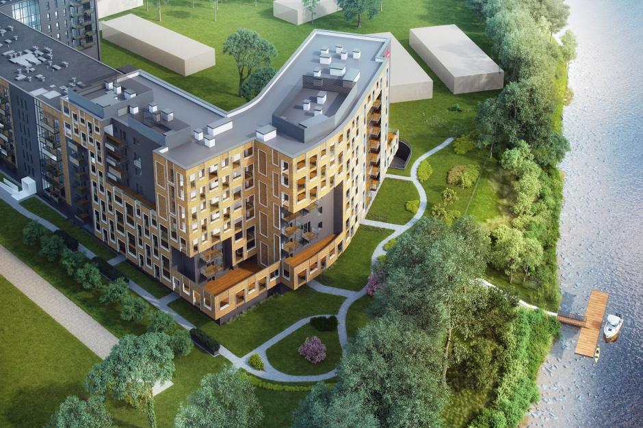 Mieszkania z górnej półki nad Odrą. Atal rusza z drugim etapem Dmowskiego 19