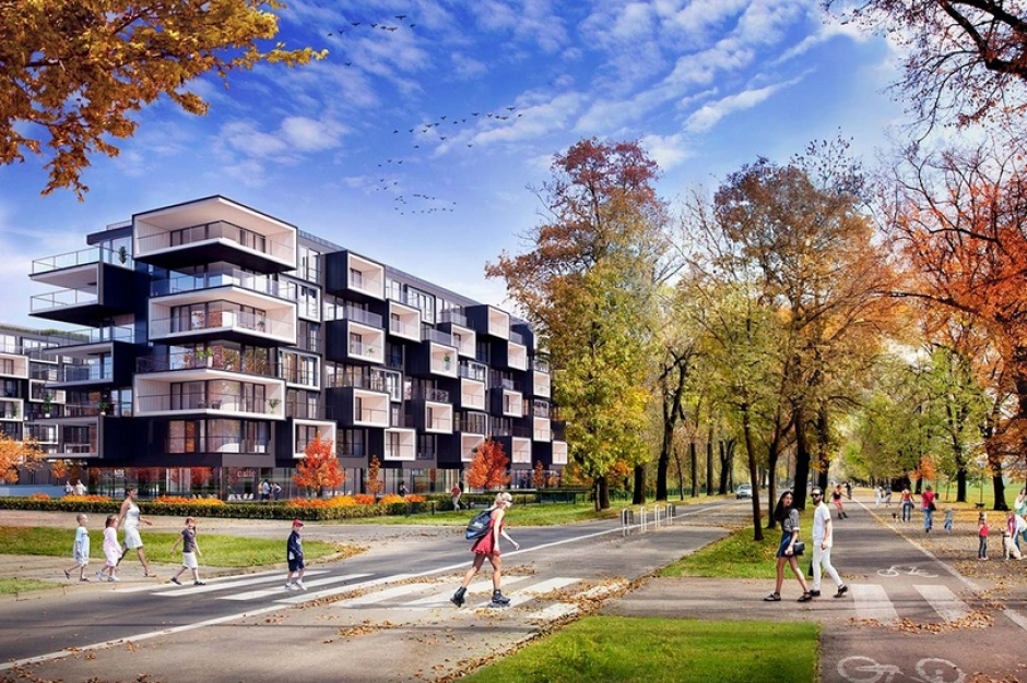Apartamenty Błonia Park do życia i na wynajem